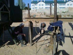 Статическое зондирование и штамповые испытания грунта